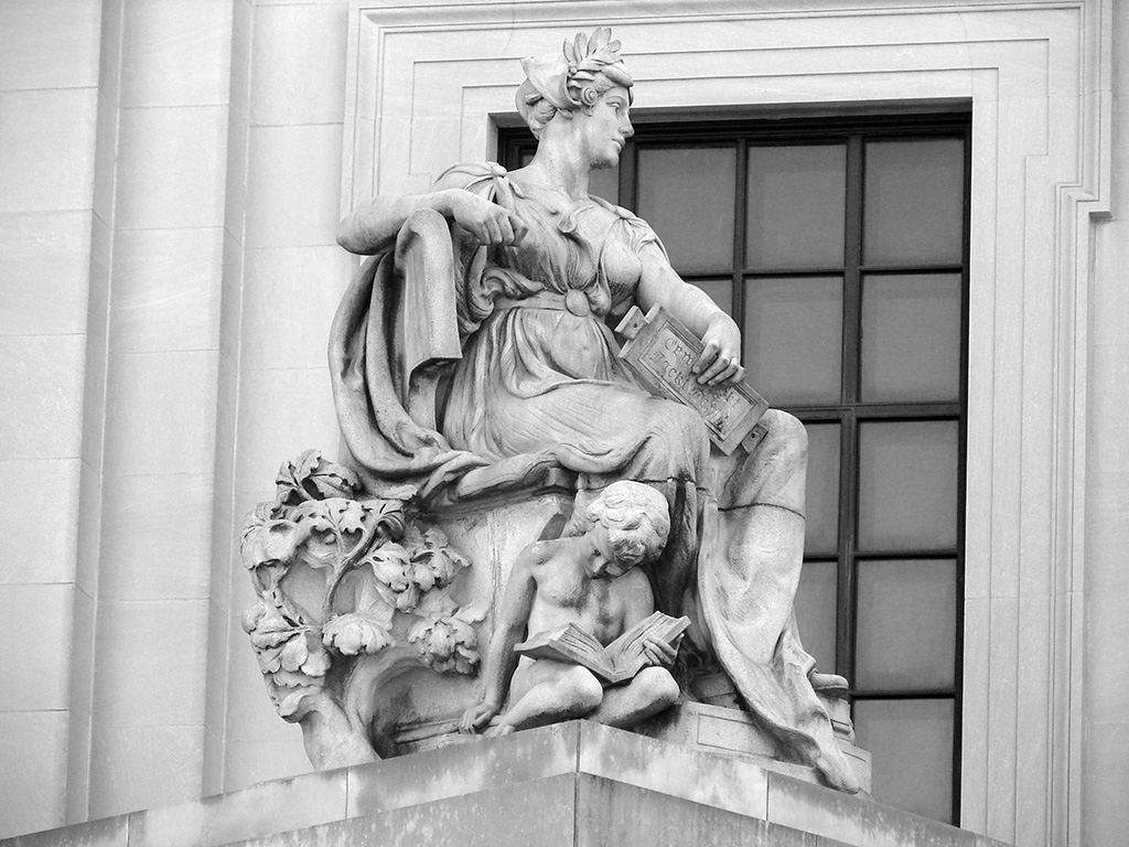 Brooklyn by Daniel Chester French. 1916